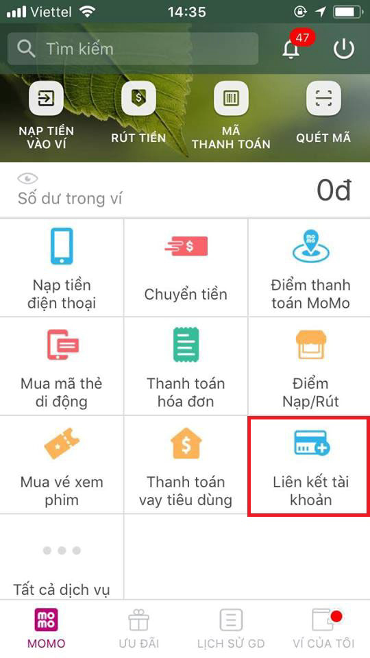 lien-ket-momo-voi-techcombank